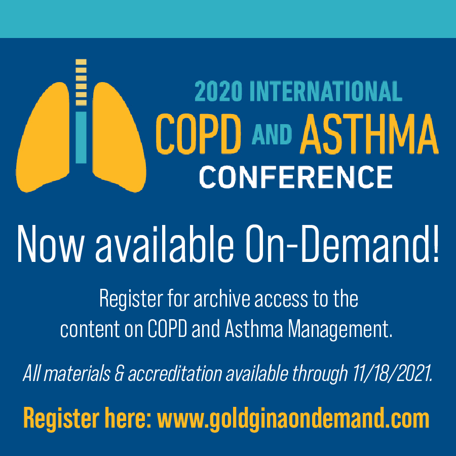 COPD & Asthma 2020 Conference On Demand